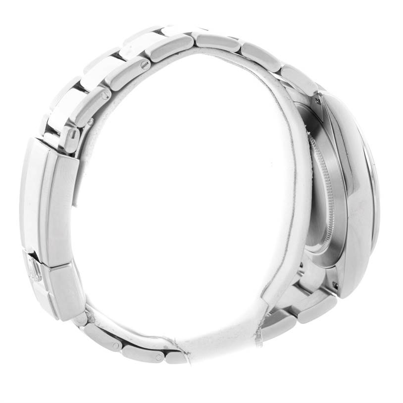 10678 Rolex Daytona Stainless Steel Black Dial Chronograph Watch 116520 SwissWatchExpo