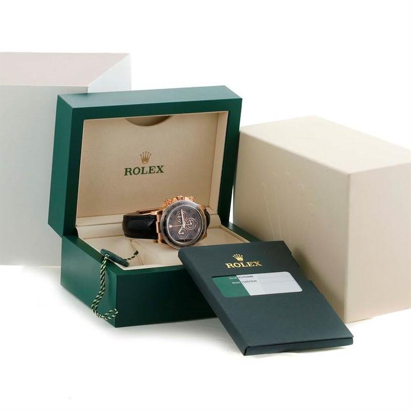 Rolex Cosmograph Daytona 18K Rose Gold Everose Watch 116515LN Unworn SwissWatchExpo