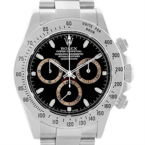 Photo of Rolex Cosmograph Daytona Zenith Movement Cream Subdials Watch 16520