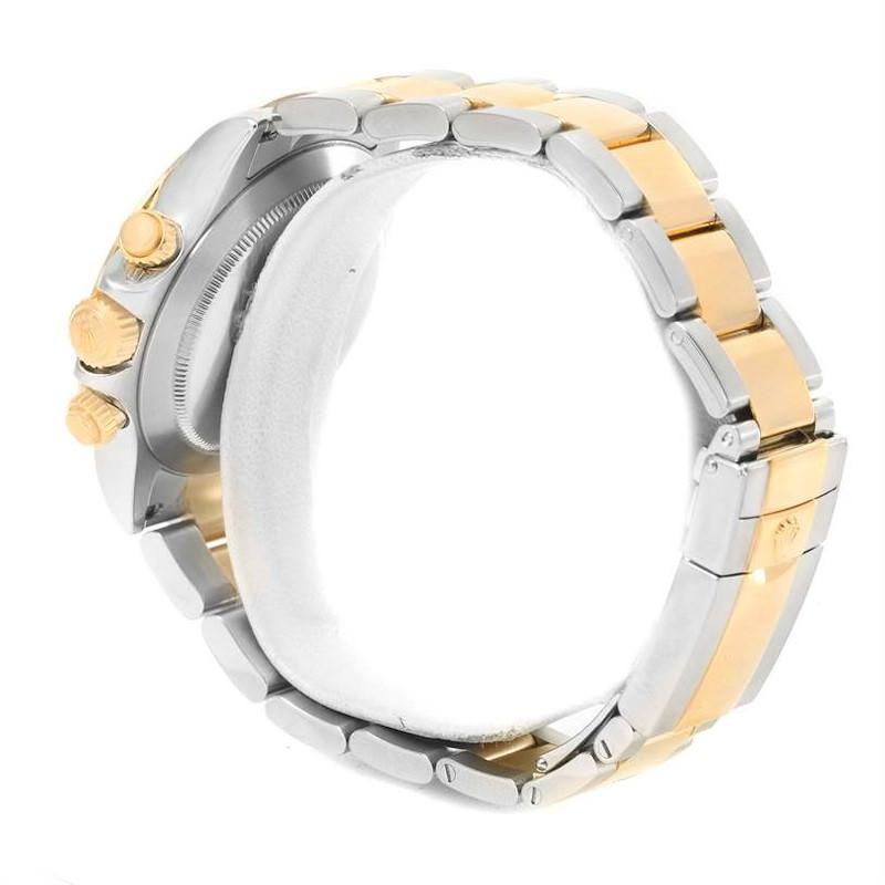 Rolex Cosmograph Daytona Stainless Steel 18K Yellow Gold Watch 116523 SwissWatchExpo