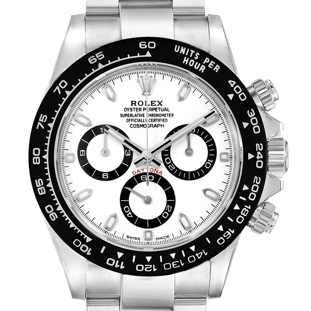 rolex cosmograph daytona white dial chronograph watch. Black Bedroom Furniture Sets. Home Design Ideas
