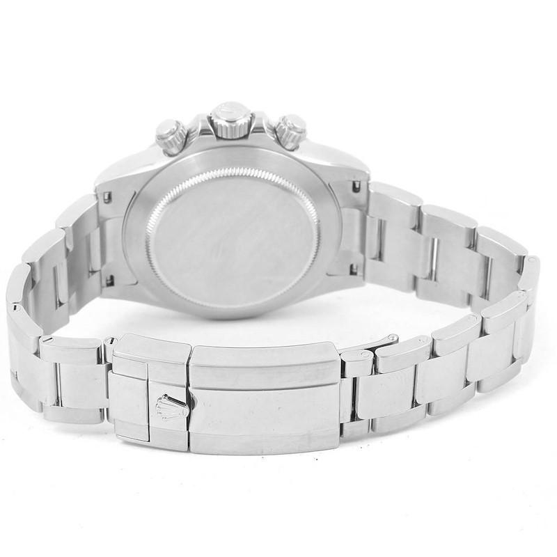 Rolex Cosmograph Daytona White Dial Chronograph Watch 116520 SwissWatchExpo