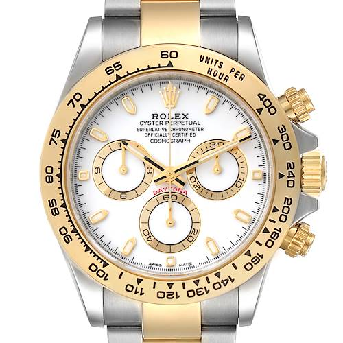 Photo of Rolex Cosmograph Daytona 18K Steel Yellow Gold Watch 116503 Unworn