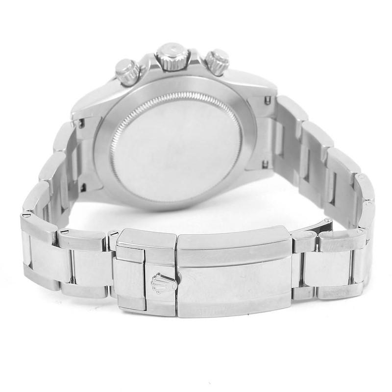 Rolex Cosmograph Daytona Black Dial Chronograph Mens Watch 116520 SwissWatchExpo