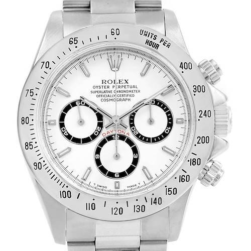 Photo of Rolex Cosmograph Daytona Zenith Movement Watch 16520 Box Papers