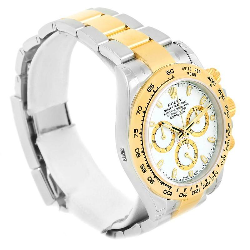 Rolex Cosmograph Daytona 18K Steel Yellow Gold Watch 116503 Unworn SwissWatchExpo
