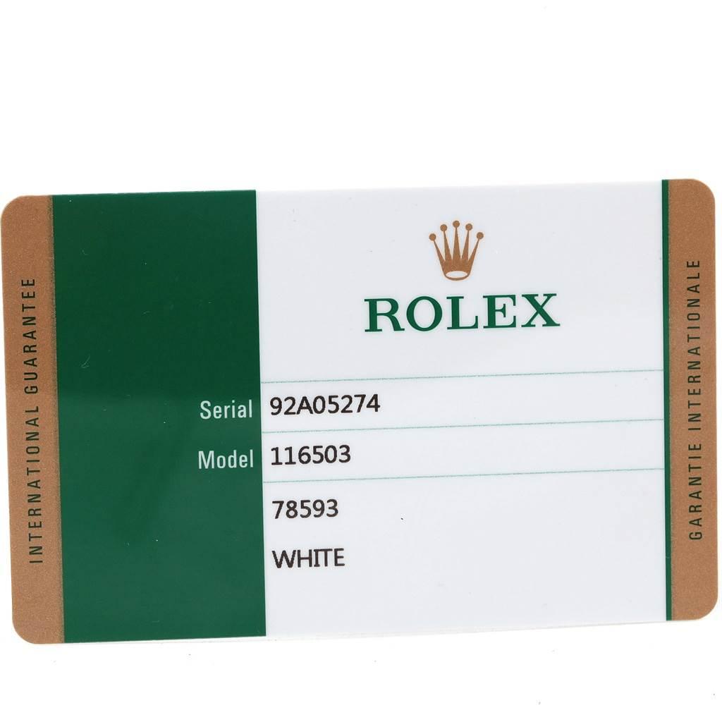 Rolex Cosmograph Daytona Steel Yellow Gold Watch 116503 Box Papers SwissWatchExpo