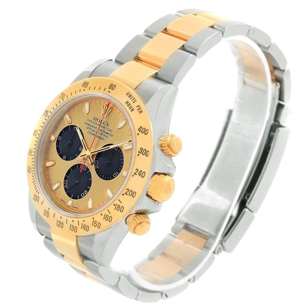 Rolex Daytona Steel Yellow Gold Paul Newman Dial Mens Watch 116523 SwissWatchExpo