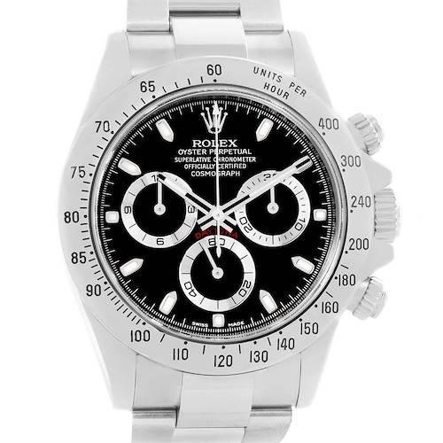 Photo of Rolex Cosmograph Daytona Black Dial Chronograph Mens Watch 116520