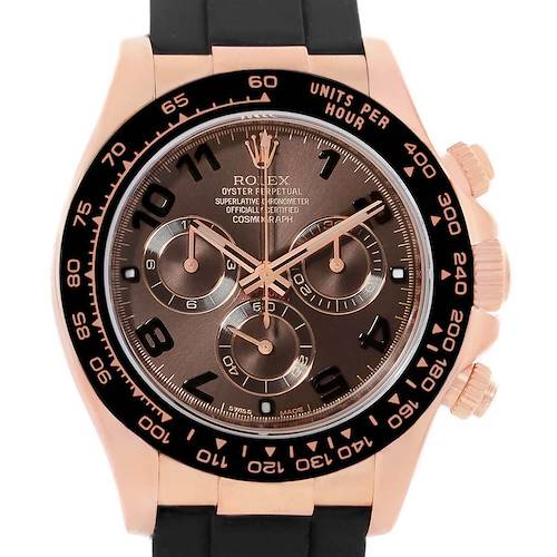 Photo of Rolex Cosmograph Daytona 18K Rose Gold Everose Watch 116515 Unworn