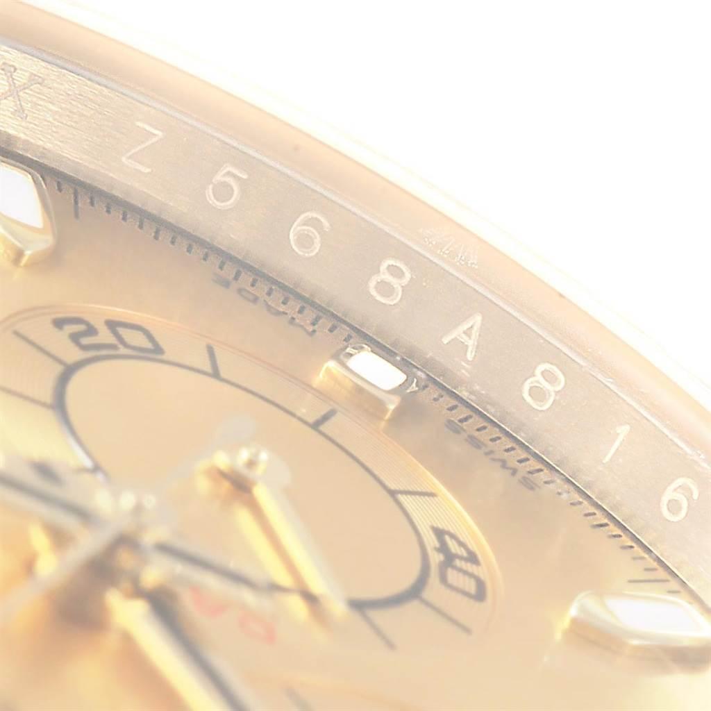 Rolex Daytona Steel 18K Yellow Gold Chronograph Dial Watch 116523 SwissWatchExpo