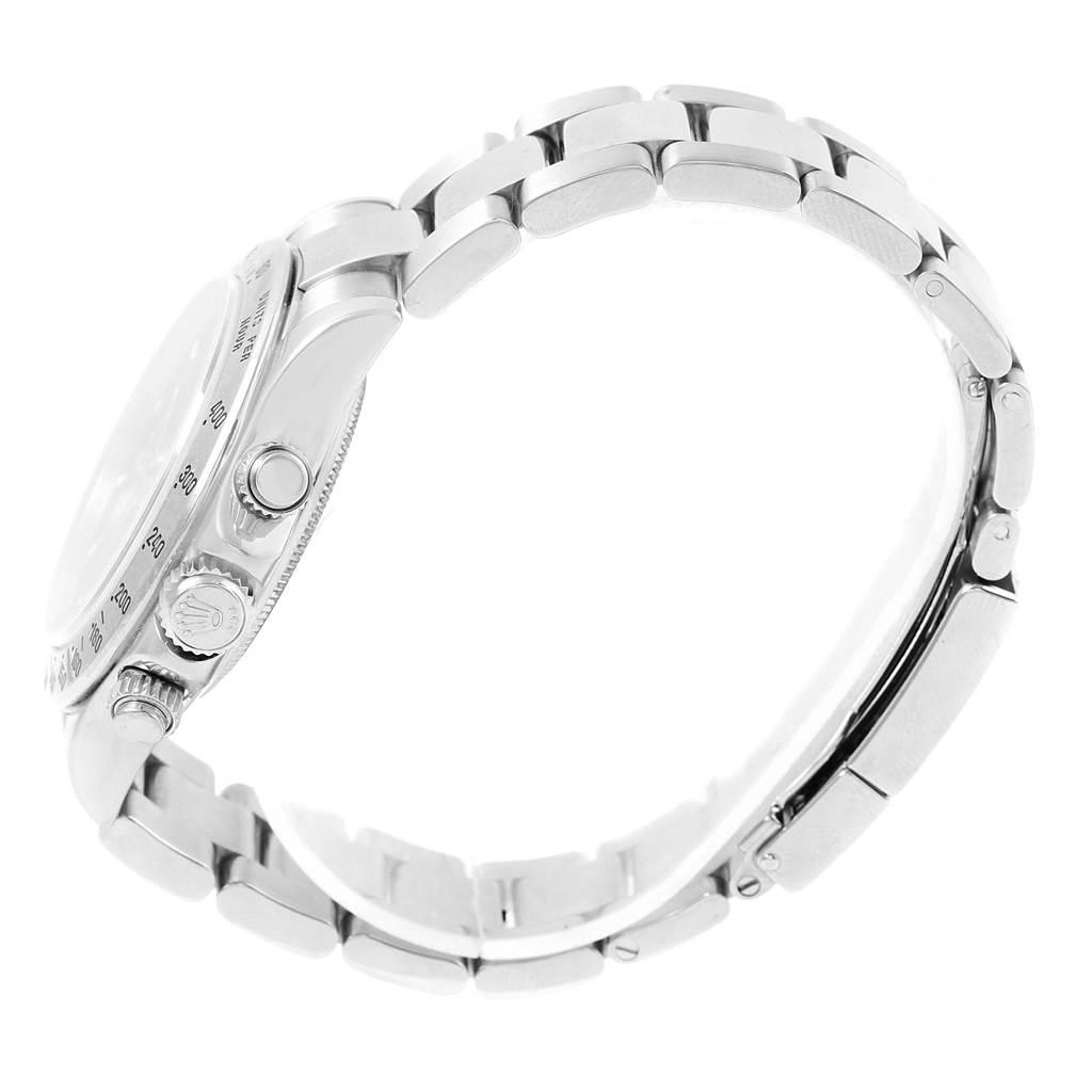 Rolex Cosmograph Daytona Black Dial Steel Mens Watch 116520 Box Papers SwissWatchExpo
