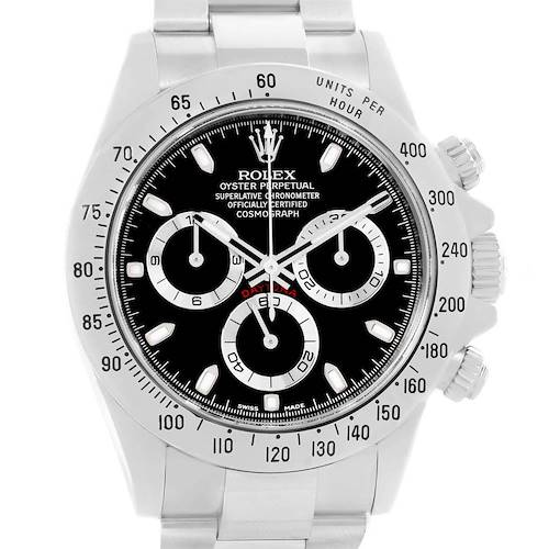 Photo of Rolex Cosmograph Daytona Chronograph Stainless Steel Mens Watch 116520