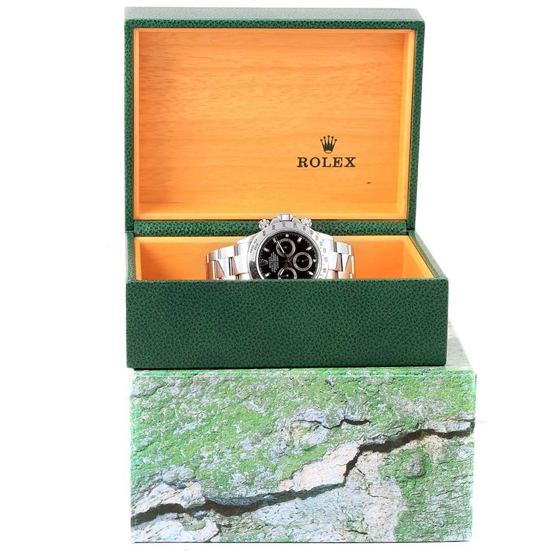 Rolex Cosmograph Daytona Chronograph Stainless Steel Mens Watch 116520 SwissWatchExpo
