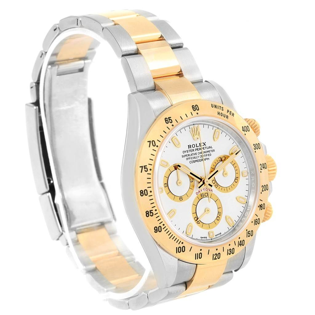Rolex Cosmograph Daytona Steel Yellow Gold Watch 116503 Unworn SwissWatchExpo