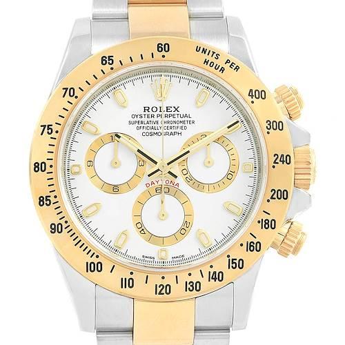 Photo of Rolex Cosmograph Daytona Steel Yellow Gold Watch 116503 Unworn