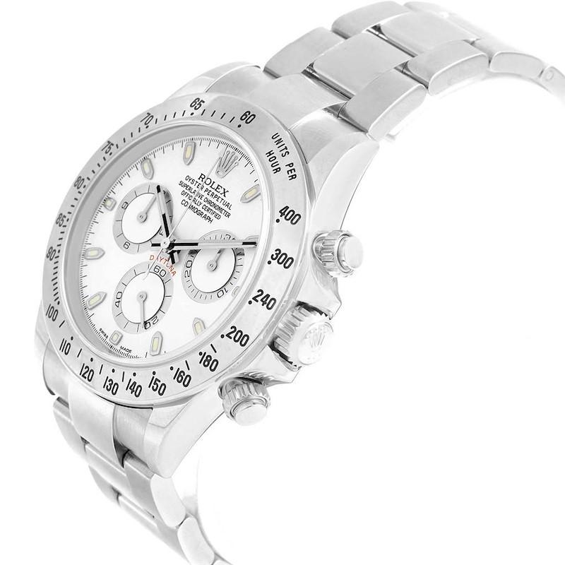 Rolex Cosmograph Daytona Automatic Stainless Steel Watch 116520 SwissWatchExpo