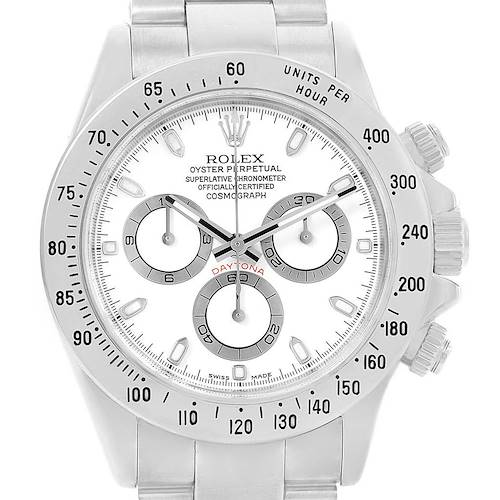 Photo of Rolex Cosmograph Daytona Automatic Stainless Steel Watch 116520