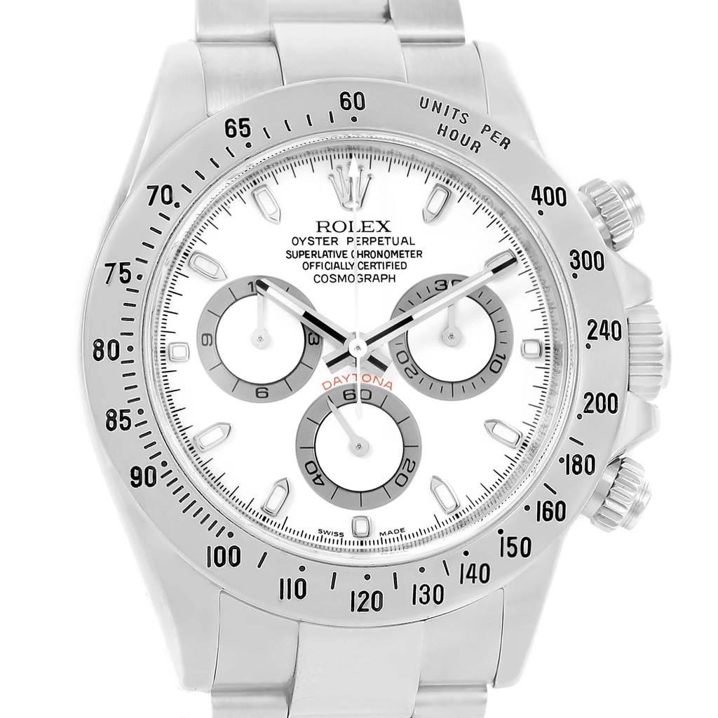 Rolex Daytona Automatic Chronograph Stainless Steel Watch 116520