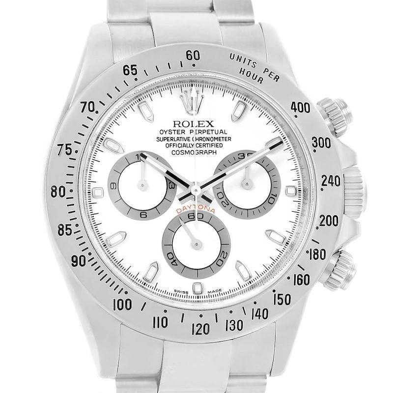 Rolex Daytona Automatic Chronograph Stainless Steel Watch 116520 SwissWatchExpo