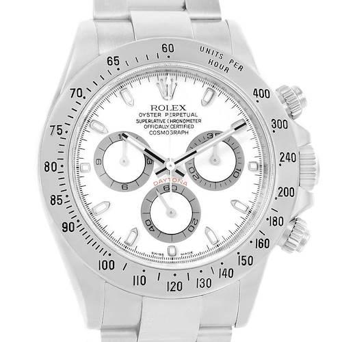 Photo of Rolex Daytona Automatic Chronograph Stainless Steel Watch 116520