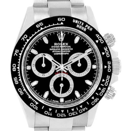 Photo of Rolex Daytona Black Dial Chronograph Mens Watch 116500 Box Papers
