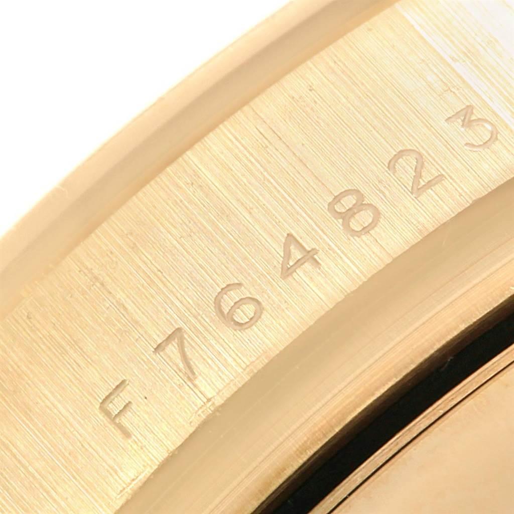 Rolex Daytona Yellow Gold Paul Newman Dial Mens Watch 116528 Box Papers SwissWatchExpo