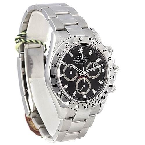 Rolex Cosmograph Daytona Ss Mens Watch 116520 Year 2008 SwissWatchExpo