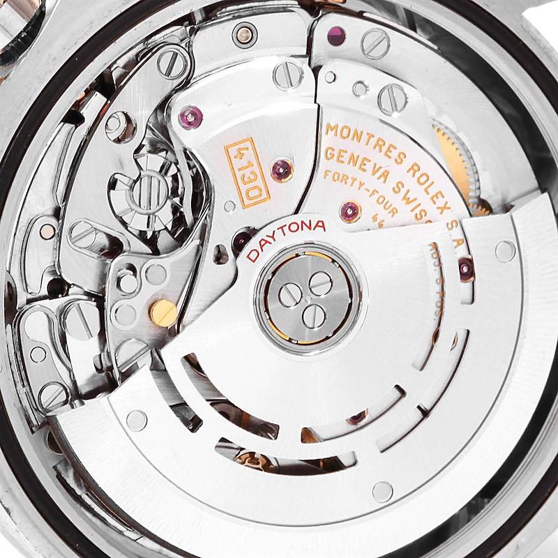 Rolex Cosmograph Daytona 18K White Gold Black Dial Mens Watch 116509 SwissWatchExpo