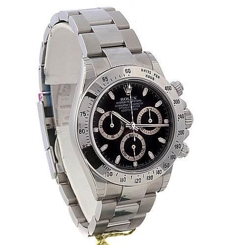 Rolex Cosmograph Daytona Ss Mens Watch 116520 - Unworn SwissWatchExpo