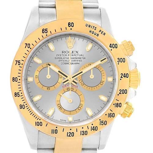 Photo of Rolex Daytona Steel Yellow Gold Slate Dial Automatic Mens Watch 116523