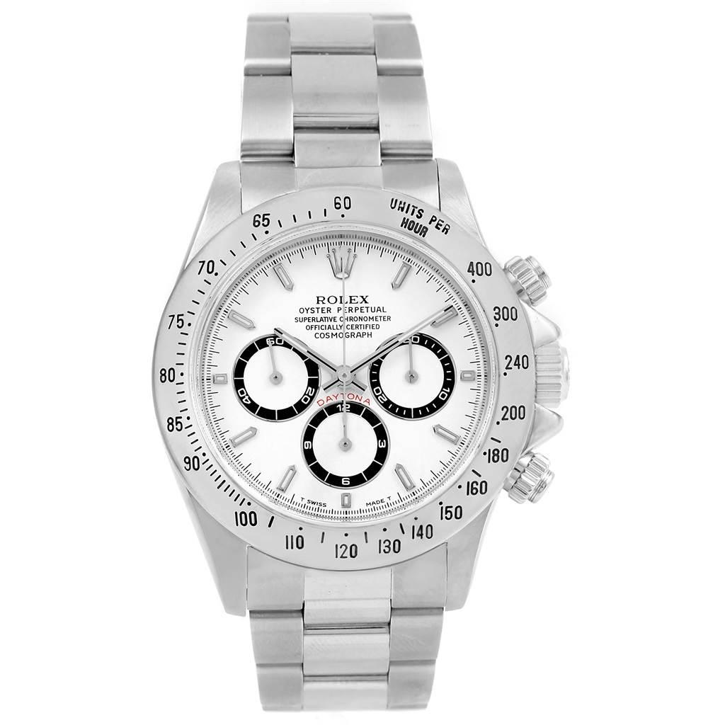 Rolex Cosmograph Daytona Zenith Movement Watch 16520 SwissWatchExpo