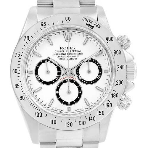 Photo of Rolex Cosmograph Daytona Zenith Movement Watch 16520
