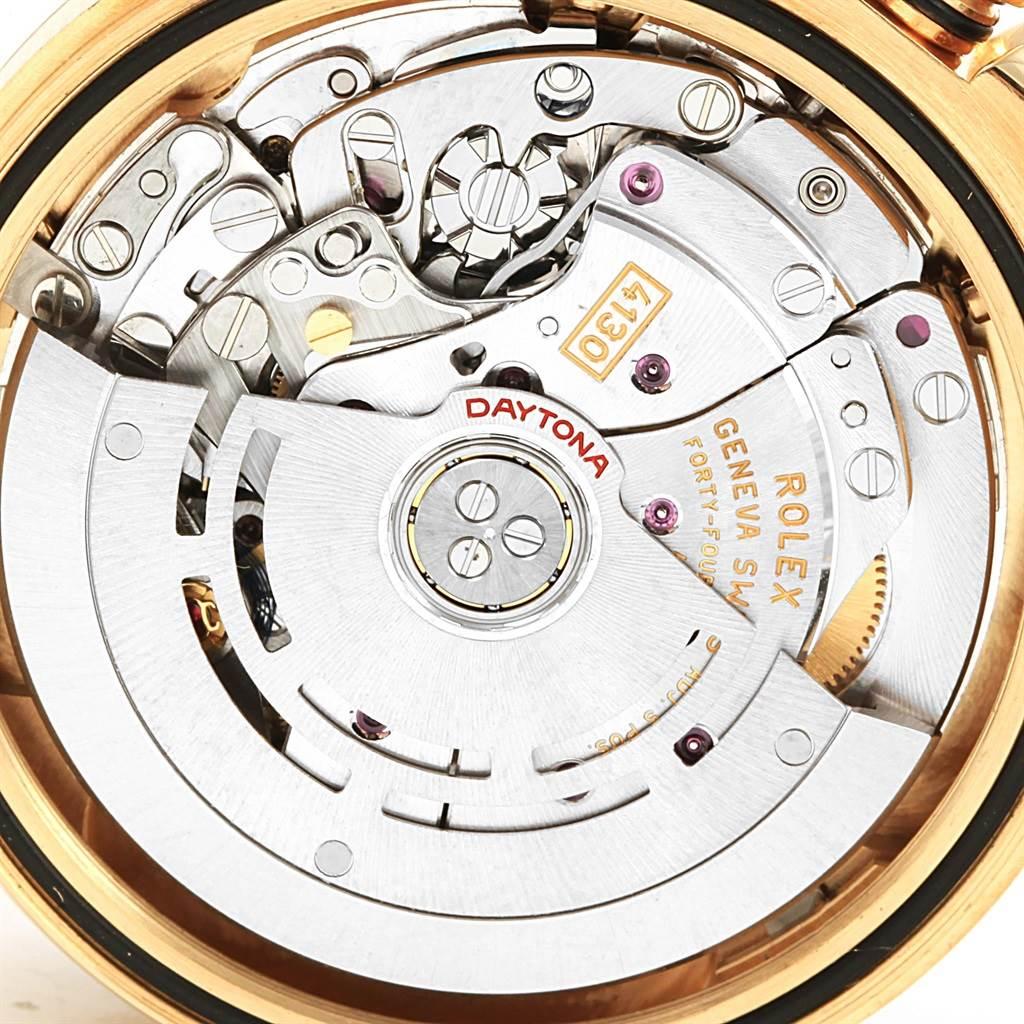 Rolex Daytona Yellow Gold Paul Newman Dial Mens Watch 116528 SwissWatchExpo