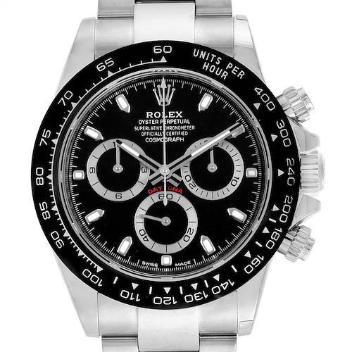 Photo of Rolex Daytona Black Dial Chronograph Mens Watch 116500 Unworn