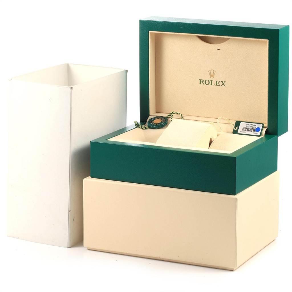 22543 Rolex Daytona Panda Dial Steel Yellow Gold Chronograph Mens Watch 116523 SwissWatchExpo