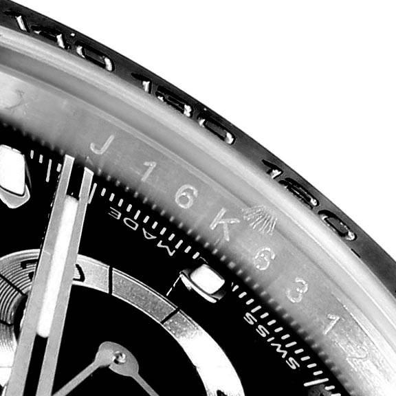 22588 Rolex Daytona Black Dial Chronograph Mens Watch 116500 Box Card SwissWatchExpo
