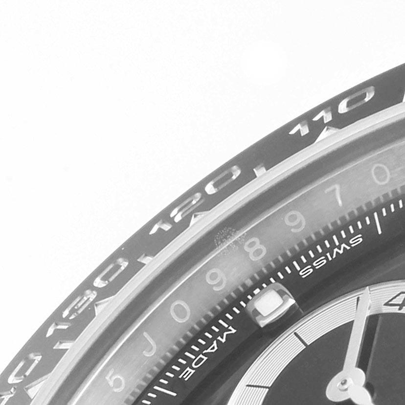 Rolex Daytona Black Dial Chronograph Mens Watch 116500 Unworn SwissWatchExpo