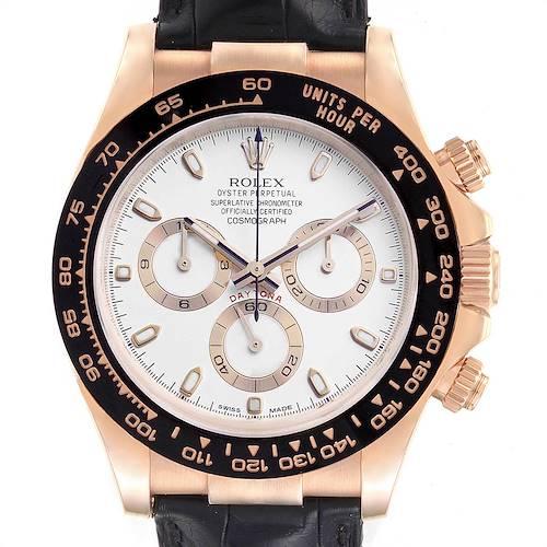 Photo of Rolex Cosmograph Daytona Rose Gold Everose Mens Watch 116515 Unworn
