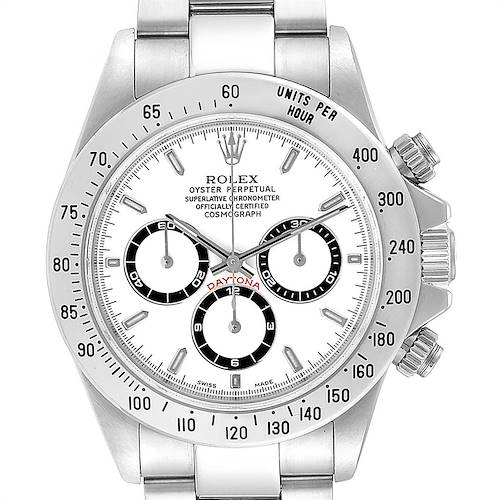 Photo of Rolex Cosmograph Daytona Zenith Movement Steel Watch 16520 Box Papers
