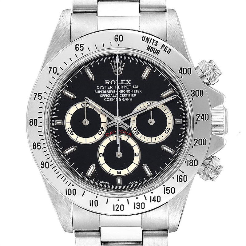 Rolex Cosmograph Daytona Zenith Movement Mens Watch 16520 Box Papers SwissWatchExpo