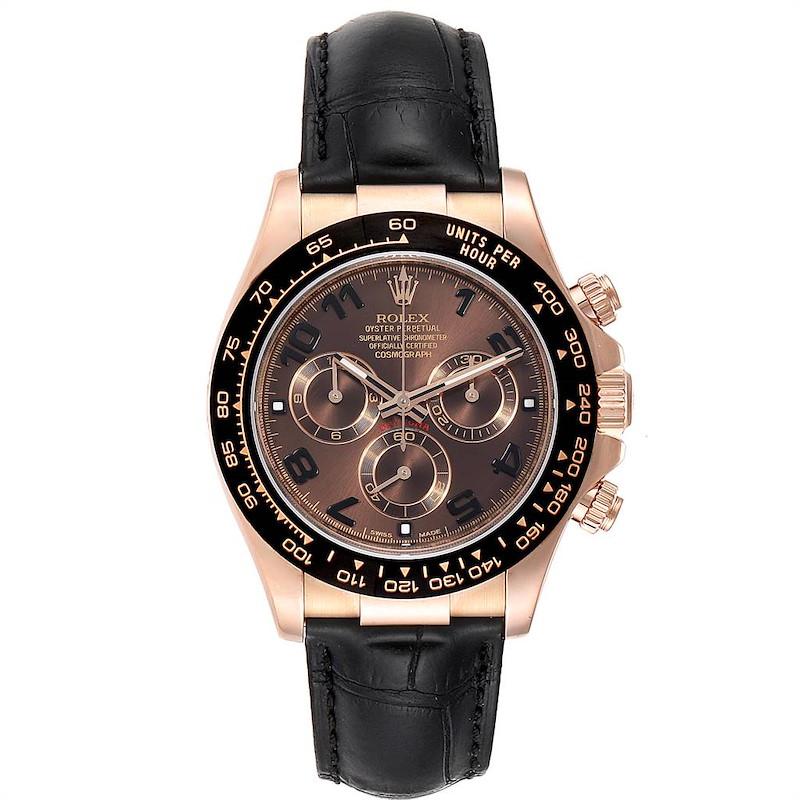 Rolex Cosmograph Daytona Rose Gold Everose Mens Watch 116515 Box Card PARTIAL PAYMENT SwissWatchExpo