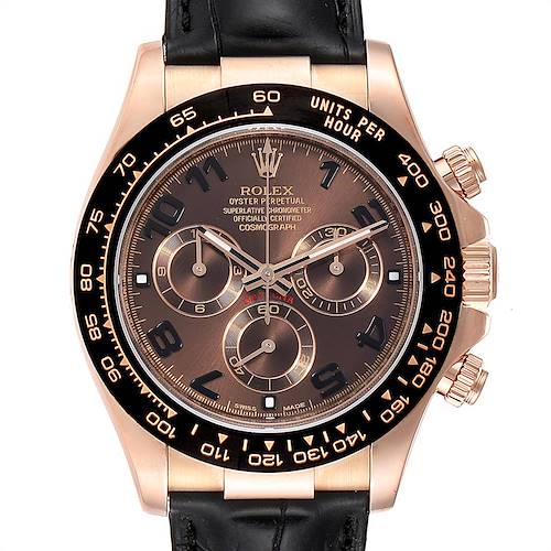Photo of Rolex Cosmograph Daytona Rose Gold Everose Mens Watch 116515 Box Card PARTIAL PAYMENT