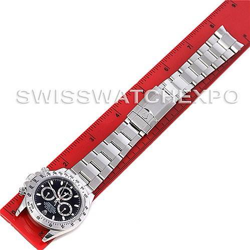 Rolex Preowned Cosmograph Daytona SS Mens Watch 116520 With Box SwissWatchExpo