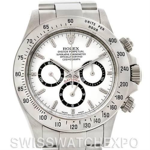 Photo of Rolex Cosmograph Daytona Zenith Movement Steel Mens Watch 16520