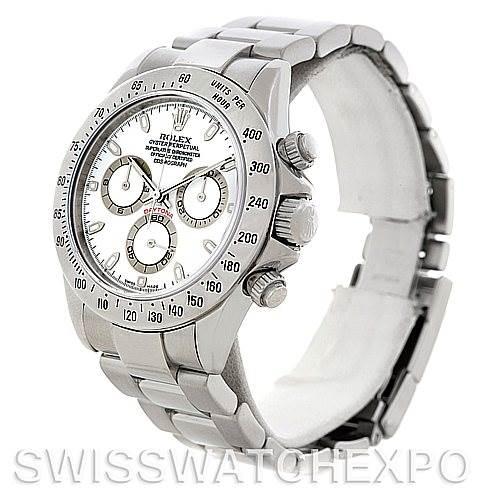 Rolex Cosmograph Daytona Steel Men's Watch 116520 SwissWatchExpo