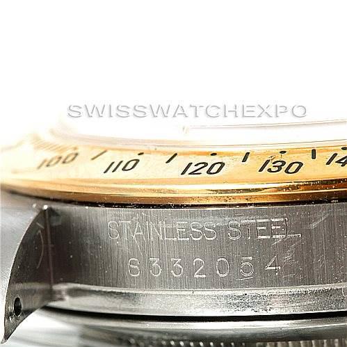 Rolex Cosmograph Daytona Steel and Gold Mens Watch 16523 SwissWatchExpo