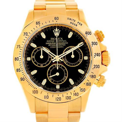 Photo of Rolex Cosmograph Daytona 18K Yellow Gold Watch 116528