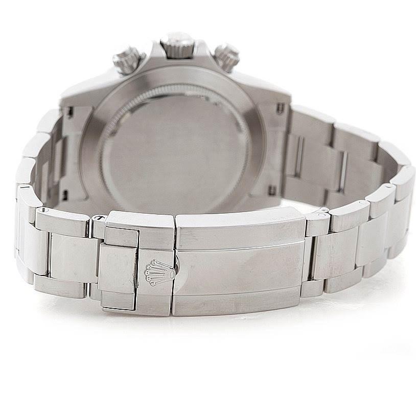 Rolex Cosmograph Daytona Steel Mens Watch 116520 SwissWatchExpo