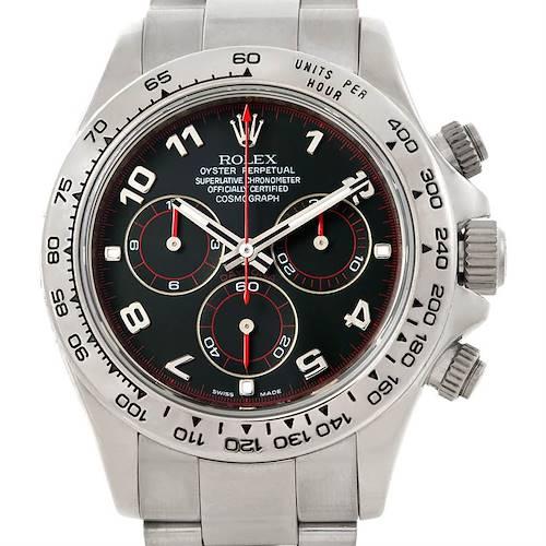 Photo of Rolex Cosmograph Daytona 18K White Gold Watch 116509